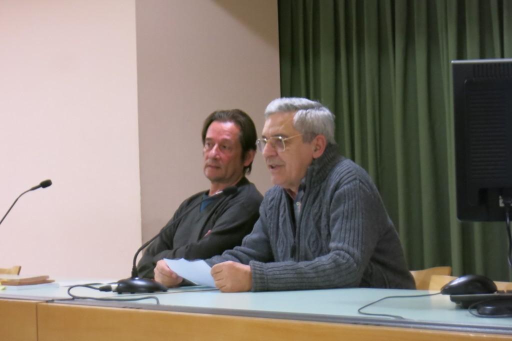 Lluís Calderer parla de Miquel Porter a Manresa. 4/12/15