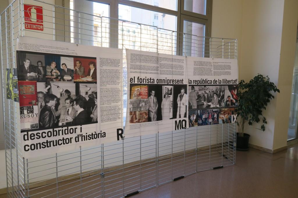 Exposició Tot recordant Miquel Porter a la Biblioteca del Casino de Manresa