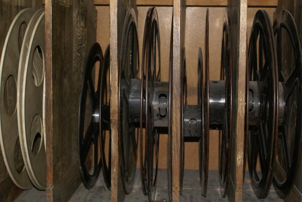 Material cabina de projecció