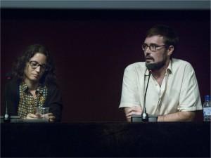 Laia Ramos i Joan Jordi Miralles, autors de curtmetratges