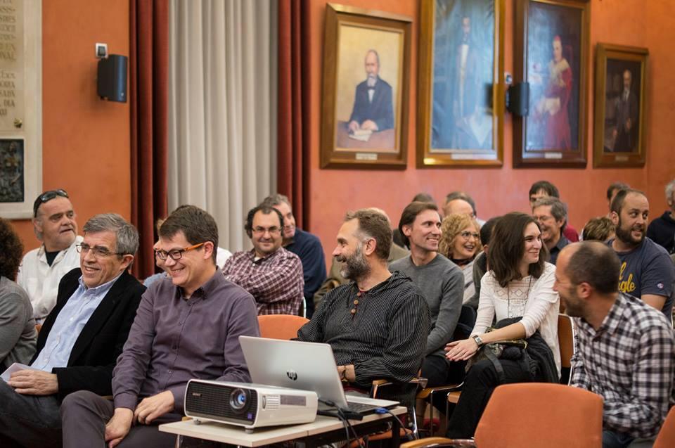Saló de sessions de l'Ajuntament de Manresa